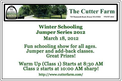The Cutter Farm Jumper Show, March 18, 2012