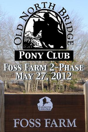 Foss Farm 2-Phase, May 27, 2012