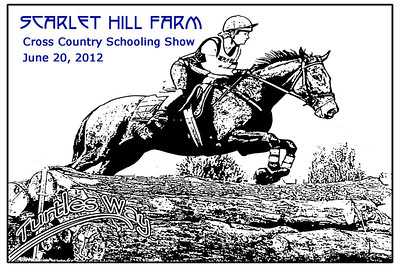 Scarlet Hill Farm Cross Country Schooling Show, June 20, 2012