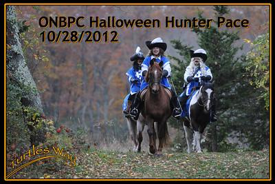 ONBPC Halloween Hunter Pace, October 28, 2012